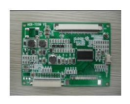 Free Shipping! 1pc  Single 60PIN LVDS Adapter Board, LVDS Turn TTL, A104SN03 V1