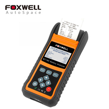 Foxwell BT780 Car 12V 24V Battery Analyzer Measuring Internal Resistance Detect Starting Charging System Check Test Tool Printer