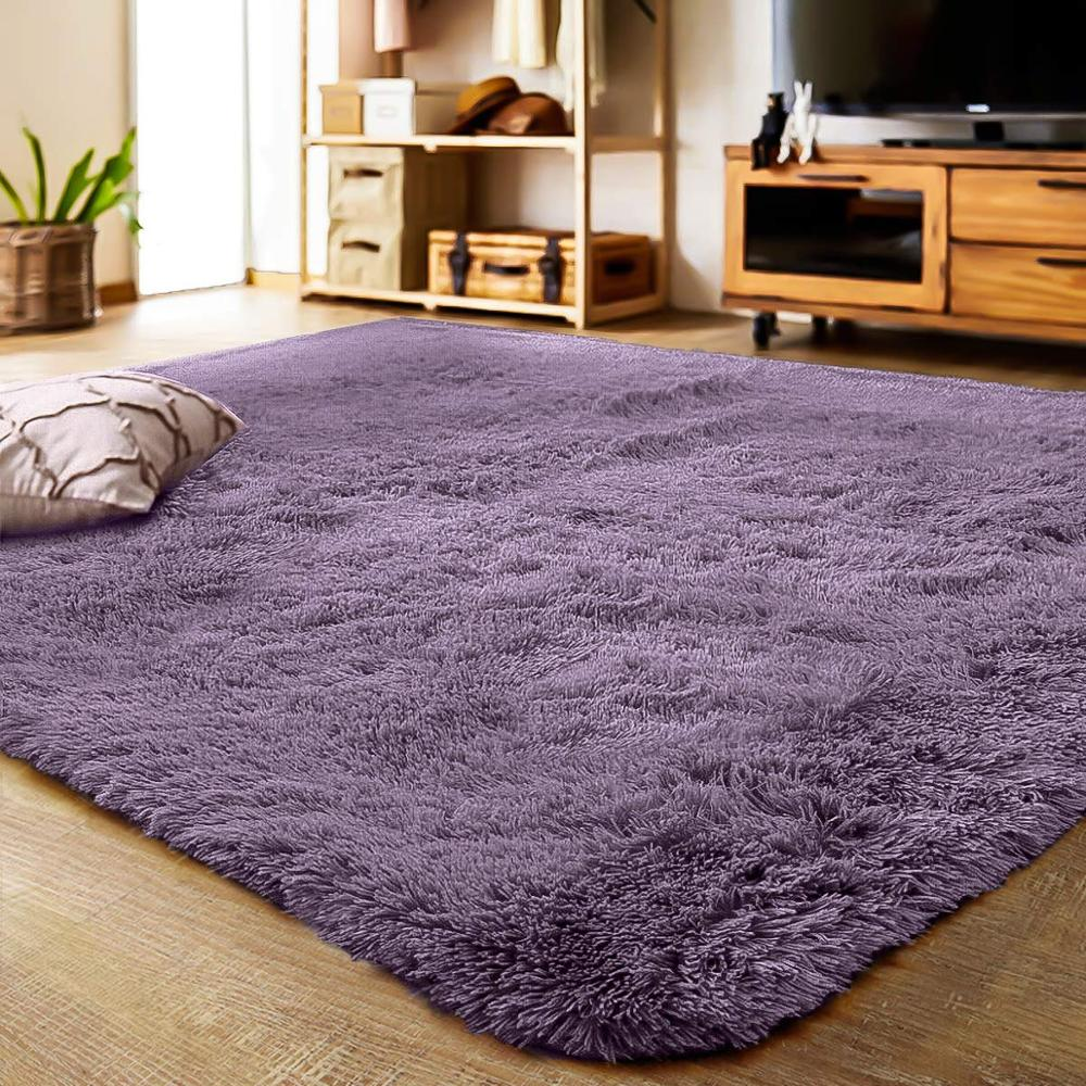 Soft Shaggy Carpet For Living Room European Home Warm Plush Floor Rugs fluffy Mats Kids Room Faux Fur Area Rug Living Room Mats(China)