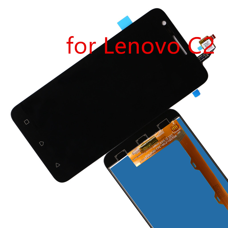 atten For lenovo vibe C2 K10a40 LCD Display and Touch Screen Digitizer LCD Assembly for lenovo vibe C2 lcd touch screen