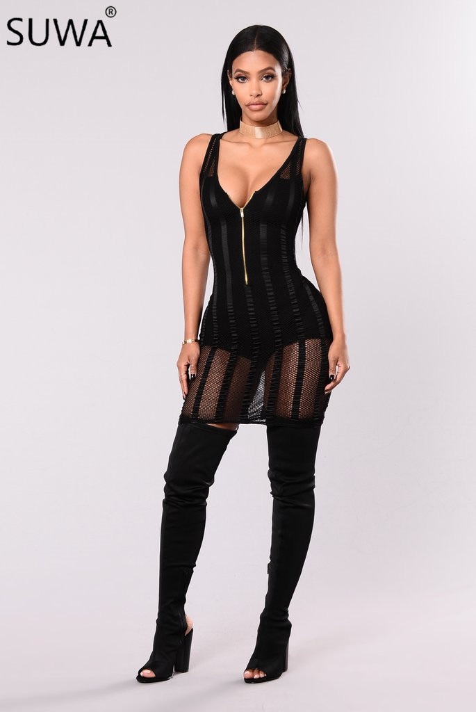 50704fc602 Buy womens sexy dresses party night club bodysuit and get free shipping on  AliExpress.com