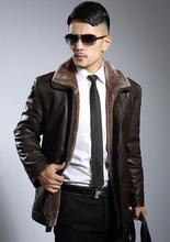 Winter warm motorcycle leather jacket men jaqueta de couro masculino motoqueiro Plus velvet thickening mens faux coats