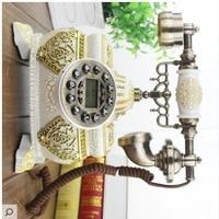 European style retro classical, European antique telephone, antique telephone, home decorations, craft furnishings