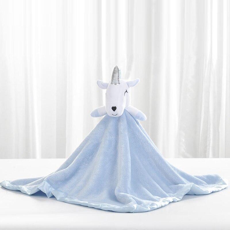 2018 Coral Fleece Blanket Cute Sheep Doll Baby Blanket Fleece Baby Flannel Receiving Blanket Stroller Wrap Bedding Baby Swaddles