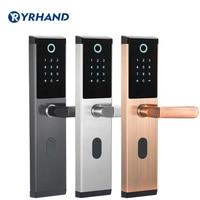 YRHAND Keyless Wireless fingerprint smart lock biometric lock, smart door lock home, Electronic Code Keypad Door Lock