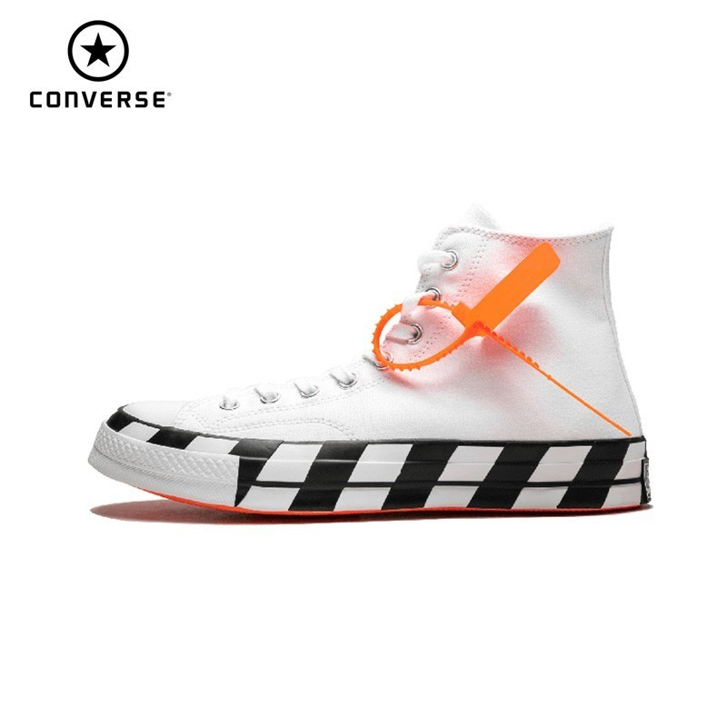 Converse Chuck 70 x Off White 2.0 ow Unsexy Skateboarding Shoes New Arrival High Top Casual Shoes # 163862CConverse Chuck 70 x Off White 2.0 ow Unsexy Skateboarding Shoes New Arrival High Top Casual Shoes # 163862C