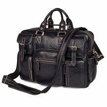 JMD импортные Топ Слои Корова кожа Сумочка Высокое качество сумка для ноутбука для офиса Бизнес-сумка для ноутбука 7028A-1