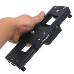 VELEDEG Camera Slider Portable Mini Hydraulic Damping for DSLR Camera Video Vlog Phones Gopro Camera Slider r25