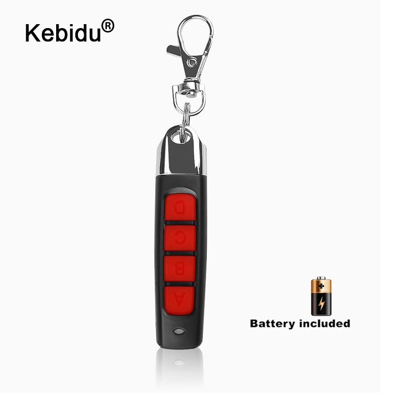 ABCD Wireless RF Remote Control 433MHz Electric Gate Key Fob Controller