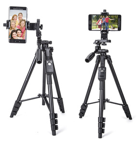 Image 1 - Yunteng 5218 카메라 삼각대 셀프 세로 모노 포드 블루투스 원격 제어 Selfie 전화 클립