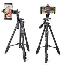 Yunteng 5218 caméra trépied auto Portrait monopode Bluetooth télécommande Selfie téléphone pince