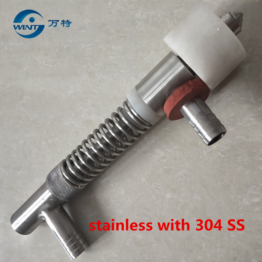 Free Shipping Overflow Liquid Filling Nozzle Of Filling Machine Connection Joint Size Is 19mm , 20mm Inner Size Bo