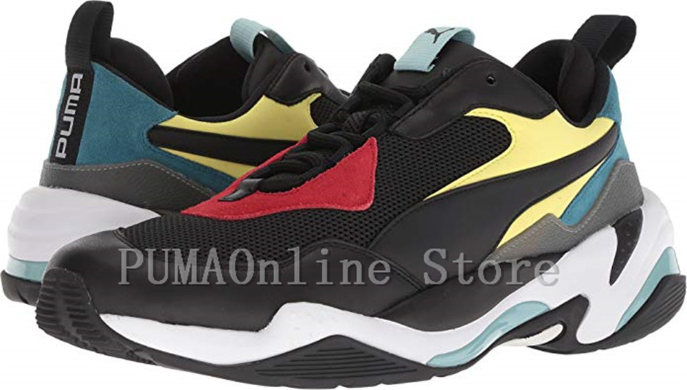 2018 New Arrival Puma Thunder Spectra Men s Breathable Sneakers Badminton  Shoes Size40 45-in Badminton Shoes from Sports   Entertainment on  Aliexpress.com ... 4b1f34606
