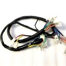Мотоцикл GN125 GS125 вся vehile кабельная проводная линия для Suzuki 125cc GN GS 125 Электрический полный запчасти для узла