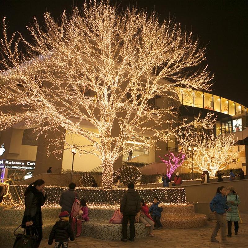 Купить рождественский светильник s 5 м 10 20 30 50 100 светодиодная