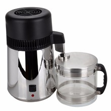 (Ship from AU) 4L Pure Water Drinker Purifier Distiller Pitcher Filer With Stainless Inner Cap glass Jar