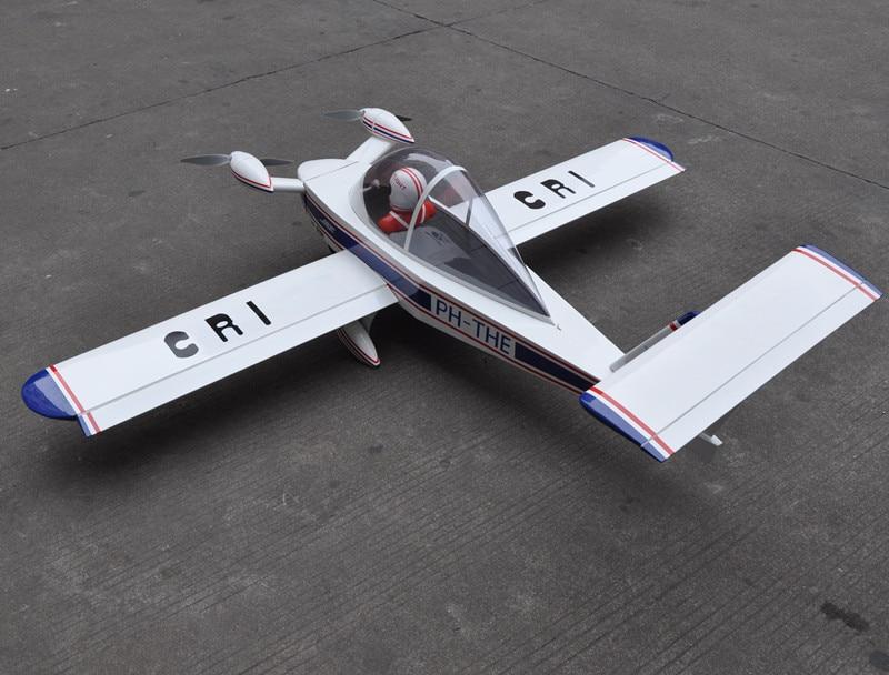 CRI-CRI 70/1778mm 6CH Radio Control RC Plane ARF Electric Scale RC Airplane Model hot sale tygzs black flyer v1 2 4g 6ch carbon fiber film rc model airplane plane bnf