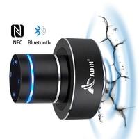 Adin bluetooth Vibration Speaker 26W Resonant Music Speakers Touch support Portable NFC Wireless Speaker Subwoofer for Laptop