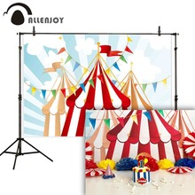 Allenjoy фон для фотосъемки цирк занавес овсянка абстрактные дети прекрасные фотографические фоны фотосессия ребенок