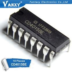 10 sztuk CD4015BE DIP16 CD4015 DIP 4015BE DIP-16 nowy i oryginalny IC