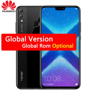 Huawei Honor 8X MobilePhone 6.5 inch Screen 3750 mAh Battery Android 8.2 Dual Back