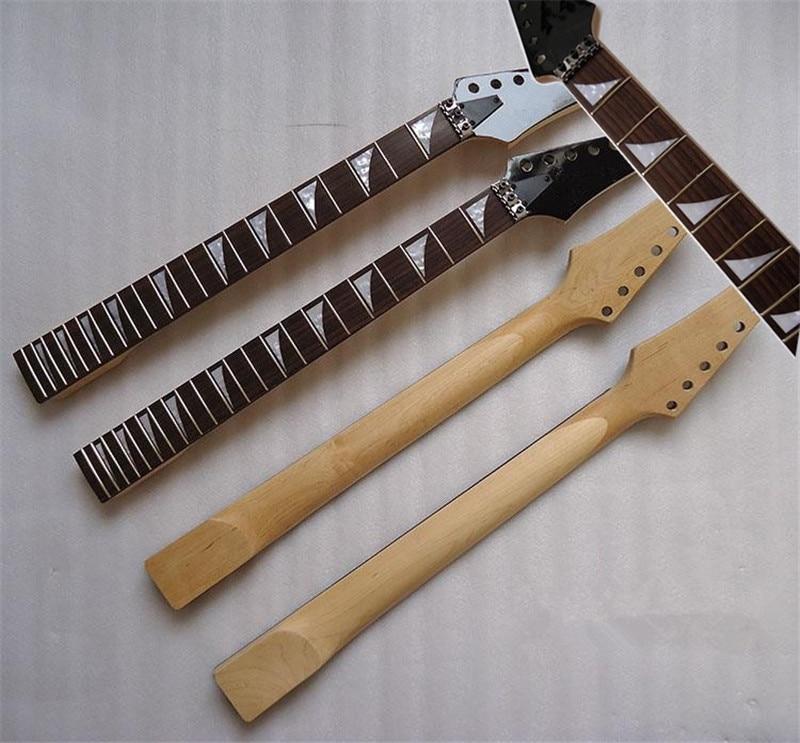 disado 22 Frets Electric Guitar թխկի պարանոցի - Երաժշտական գործիքներ - Լուսանկար 3