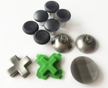 11PCS Swap Thumbsticks Button Rocker Cap Cross Key D-pads Set for Xbox One Elite PS4 Controller 1