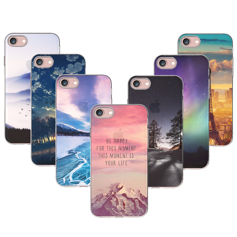 ???( ? )For iPhone 5S Soft ? ? TPU TPU Case Cover For Apple iPhone ? 5 5 5S SE Cases Phone Shell ...