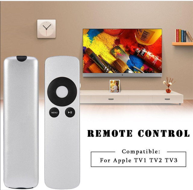 Replacement TV Remote Control for Apple TV1 TV2 TV3 Remote Controller A1294 2B15