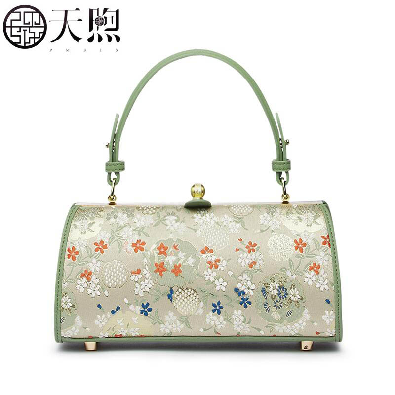 Pmsix 2019 New Women Leather bag Chain fashion embroidery leather women bag superior cowhide tote leather shoulder bagPmsix 2019 New Women Leather bag Chain fashion embroidery leather women bag superior cowhide tote leather shoulder bag