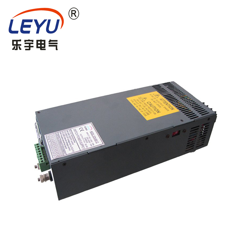 PFC function power SCN-600-12  12V 50A SMPS switching power supplyPFC function power SCN-600-12  12V 50A SMPS switching power supply