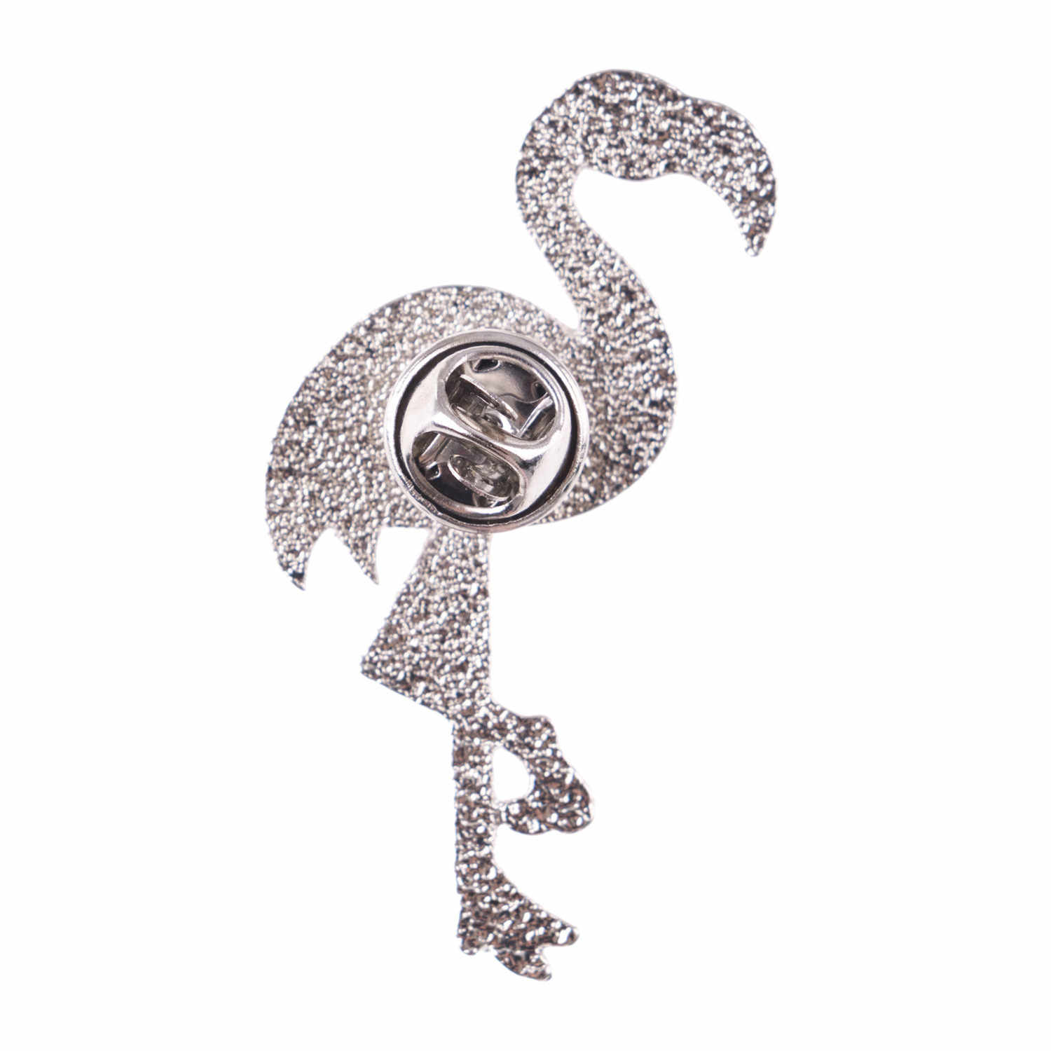 Flamingo Icons Brooches For Women New Fashion Badge 3D Print Jewelry Brooches Shaped Pin Badges Backpack Decoration
