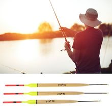 OOTDTY 5Pcs/Lot 2g/3g/4g Weight Fishing Float Length 19.5cm-23cm Floats For Carp Accessories  Floating tube for fishing