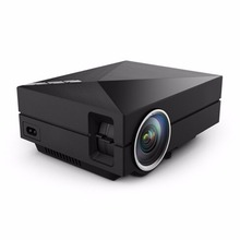 JRGK GM60 MINI Portable LED Projector 800*480 1000Lumens For Video Games TV Home Theater Movie Support HDMI VGA AV SD Proyector