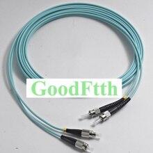 Оптоволоконные соединительные шнуры, джемперы Φ OM3 дуплекс GoodFtth 1 15m 6 шт./лот