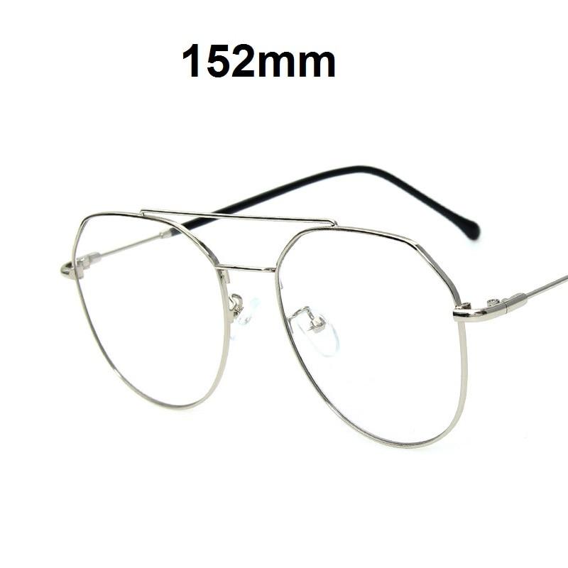 1 Vazrobe silber 56 Frau 1 Myopie Photochrome Dioptrien gold 152mm 67 Übergroßen 61 Progressive 1 Brillen Männer Frauen Schwarzes rpw1Xpq