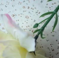 20 шт. гвоздики обвинение шелк цветок для украшения дома цветок один весло цветы