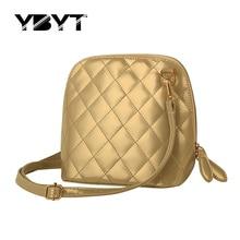 YBYT marque 2017 nouveau diamant treillis shell sac à main hotsale mode femmes de soirée satchel dames épaule messenger bandoulière sacs