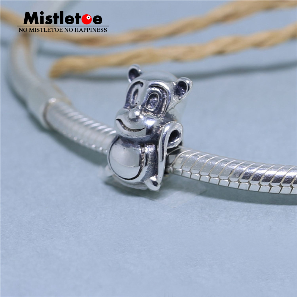 Amiable Authentic 925 Sterling Silver Aniaml Cute Monkey Charm Bead Fit European Original Bracelet Jewelry Strong Packing Jewelry & Accessories Beads & Jewelry Making