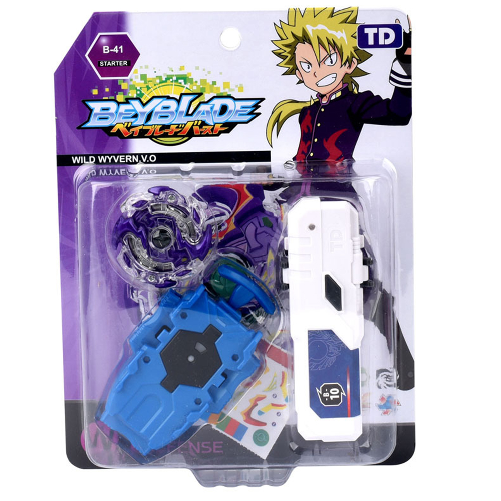 Beyblade Burst with lanucher Newest Toys gyroscope combat gyro alloy assembly toy single gyro TD09A55