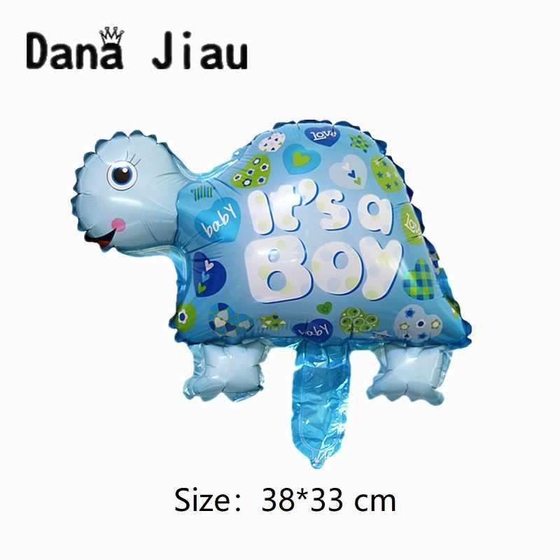 ילדה או ילד תינוק מקלחת רדיד בלוני קטן תינוקות יום הולדת מסיבת קישוט כדור נסיכת כתר ורוד בעלי החיים זה ילד צעצוע