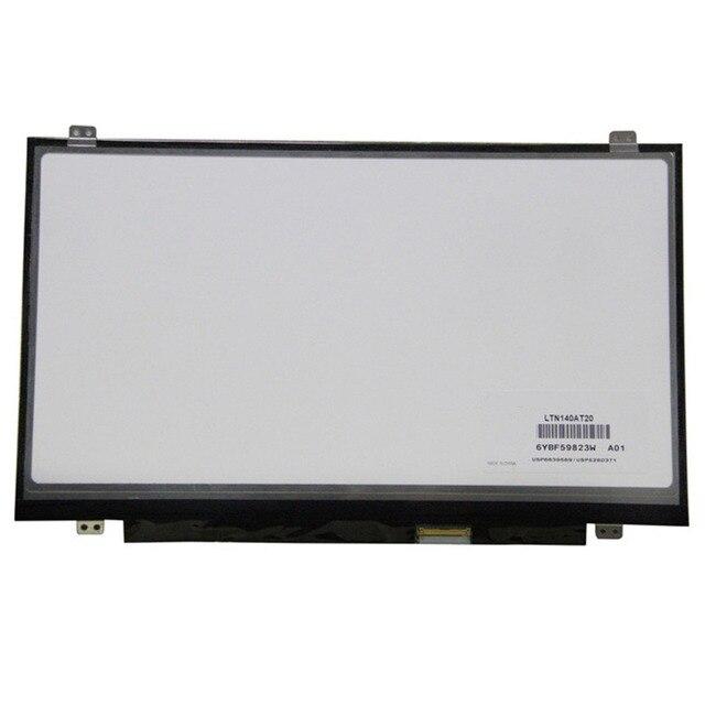 14.0 дюймов LED LCD Экран LTN140AT20 Для Lenovo T430 04W3651, 1366X768