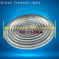 Glass fresnel lens 112mm