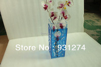 Big sale!Free shipping Acrylic flower vase Vases Crystal vases for wedding decoration Tabletop Vase Decoratives Home decor