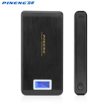 PINENG Original 15000mAh Power bank Dual USB External Battery Charger Mobile Phone PowerBank For iphone Android