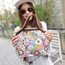 Xiniu Womens Lunch Bag Fashion Portable Flower Lunch Bags Lunch Packet Lunch Food Storage Thermos Bag Piquenique #240(China)