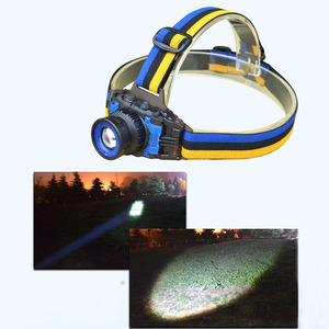 Image 2 - high power Q5 LED Headlamp Flashlight Rechargeable Zoomable Focus Frontale Head Lamp Torch Headlight for Fishing Camping Charger
