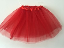 Fashion Mesh Girls Skirts Newest Ball Gown Solid Mini Skirts Vintage Colorful Skirts for Children s