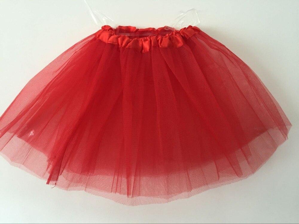 Fashion Mesh Girls font b Skirts b font Newest Ball Gown Solid Mini font b Skirts