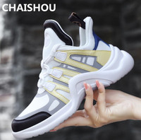 2019 Shoes Women spring Sneakers Casual Shoes Genuine Leather and Lycra women flats Footwear Walking Shoes Vulcanized ShoesB 32